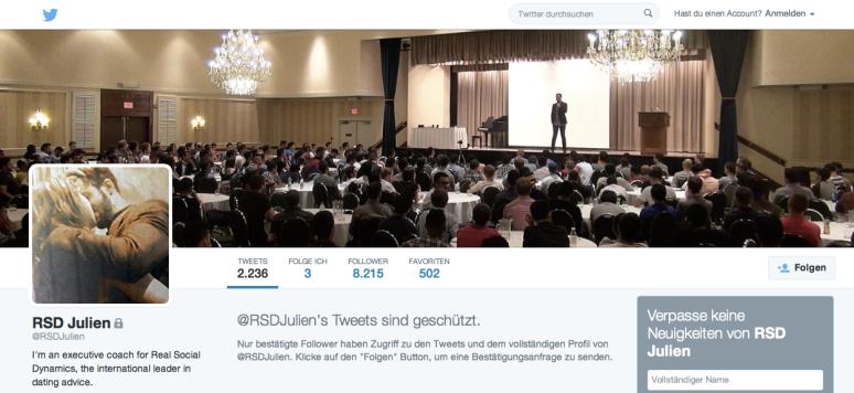 Screenshot Twitter @RSDJulien